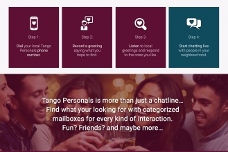 Tango Personals Website Design | Sobolik Digital Design